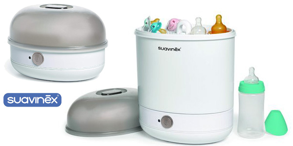 Esterilizador eléctrico Suavinex 400772 2 en 1 barato en Amazon