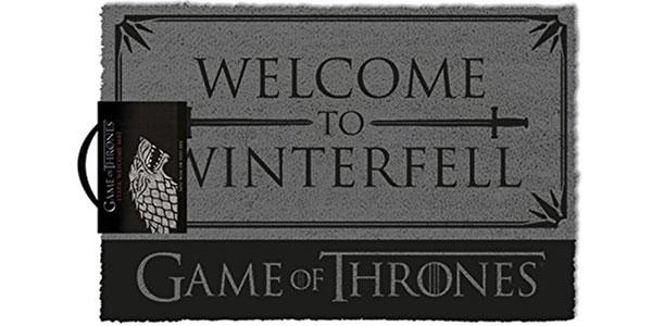 Felpudo Juego de Tronos Winterfell barato en Amazon
