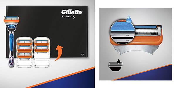 Gillette Fusion5 maquinilla de afeitar con recambios chollo