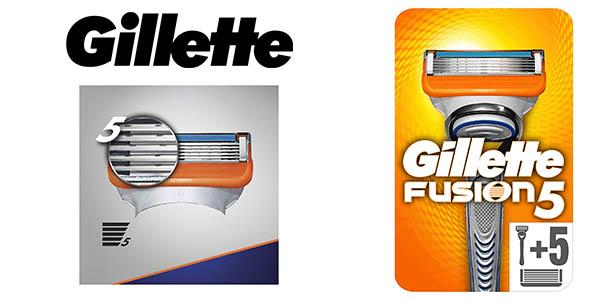 Gillette Fusion5 maquinilla con cuchillas barata