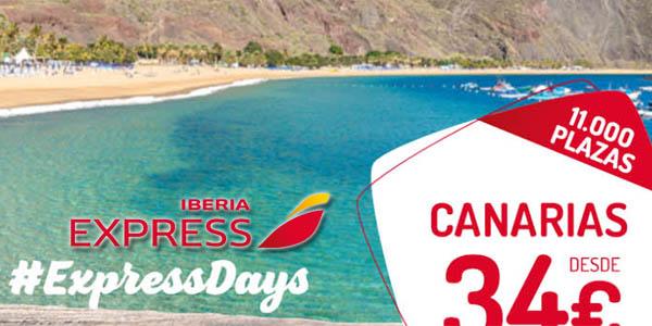 Iberia Express rebajas enero 2020