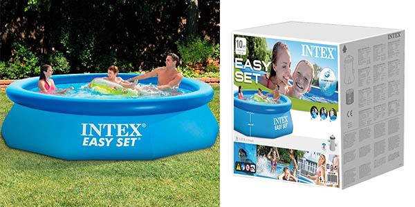 Intex Easy Set piscina inflable con depuradora chollo