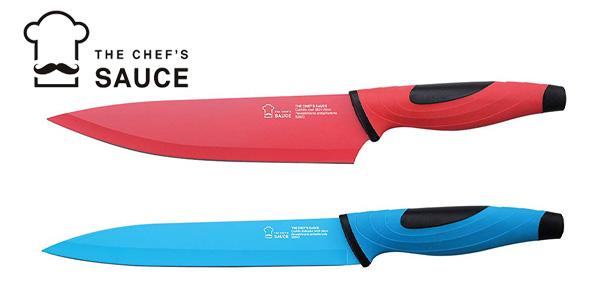 Juego de cuchillos de 5 piezas The Chef's Sauce chollo en Amazon