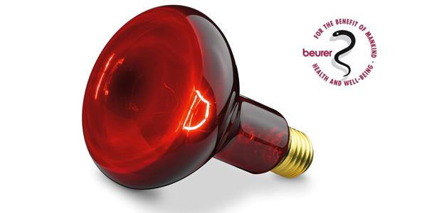 Lámpara infrarrojos Beurer IL 11 compacta chollo en Amazon