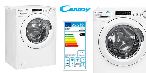 lavadora de carga frontal Candy CSS1492D3-S oferta