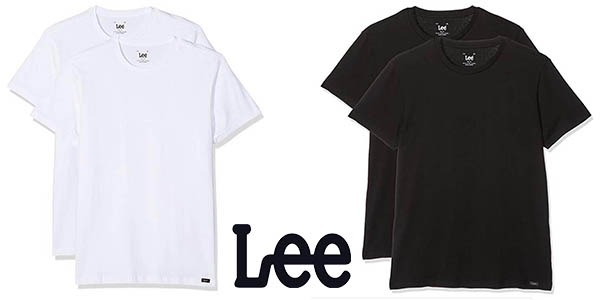 Lee Twin Pack Crew camisetas baratas