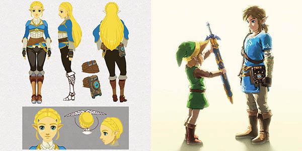 Libro de arte Creando un héroes de The Legend Of Zelda: Breath Of The Wild en Amazon