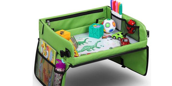 Mesa bandeja para niños Lenbest apta para sillita de coche y viaje barata en Amazon
