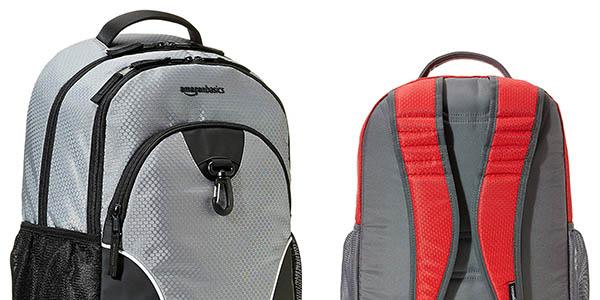 mochila acolchada casual AmazonBasics Sports Backpack chollo