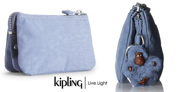 Monedero Kipling Basic Plus Capsule Creativity S azul chollazo en Amazon