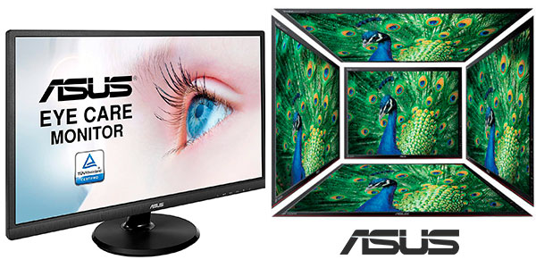 "Chollo Monitor Asus VA249HE Full HD de 23,8"" con 8 modos de imagen barato"