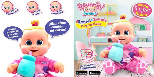 muñeco Bouncin Babies Real Buddy Expressions Bounie barato