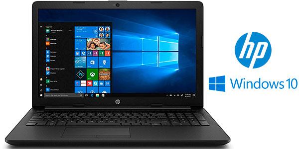 """Ordenador portátil HP 15DA0134NS de 15,6"""" (i5-7200U, 4GB, 1TB, W10) barato"""