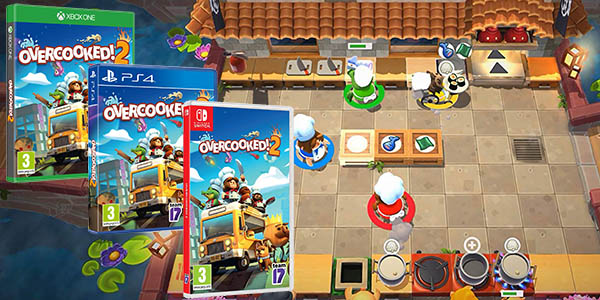 Overcooked! 2 para PS4, Nintendo Switch y Xbox One