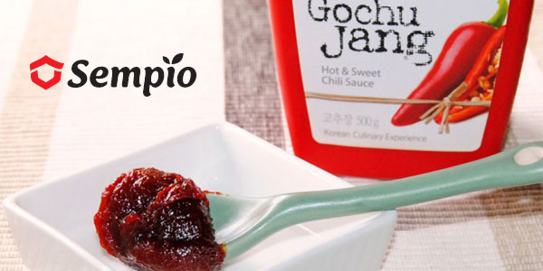 Pack 12 x 1 kg Gochujang Sempio Pasta coreana de guindilla chollo en Amazon
