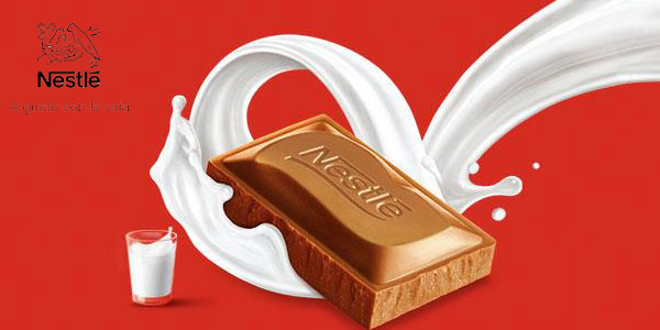 Pack de 25 tabletas de Nestlé Extrafino Corazón de 3 Chocolates x120gr/ud chollo en Amazon