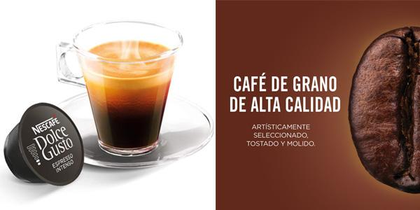 Pack de 48 cápsulas Café Espresso Intenso Nescafé Dolce Gusto barato en Amazon