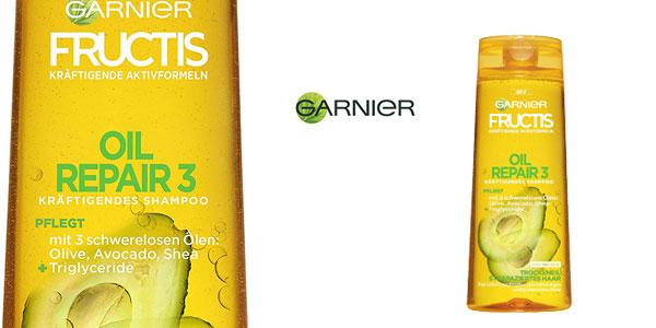 Pack x6 Champú Garnier Fructis con aceite reparador chollo en Amazon