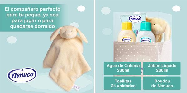 Nenuco Canastilla Regalo Bebé Recién Nacido chollazo en Amazon