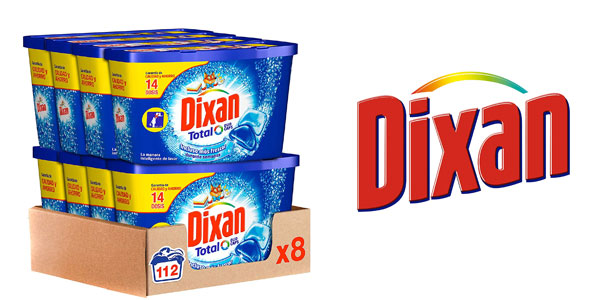 Pack de detergente en cápsulas Dixan Duo Caps barato en Amazon