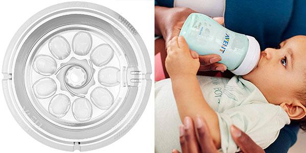 Pack x2 Biberón natural Philips Avent SCF033 de 260 ml barato