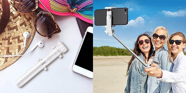 Palo selfie BlitzWolf 3 en 1 con control remoto y convertible en trípode barato
