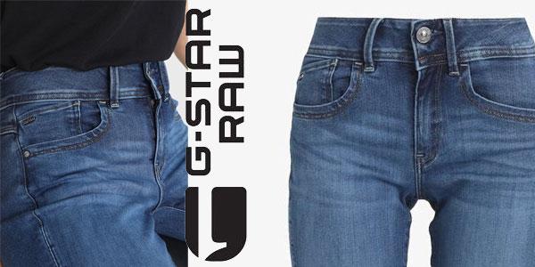 Pantalones vaqueros G-STAR RAW Lynn para mujer chollazo en Amazon