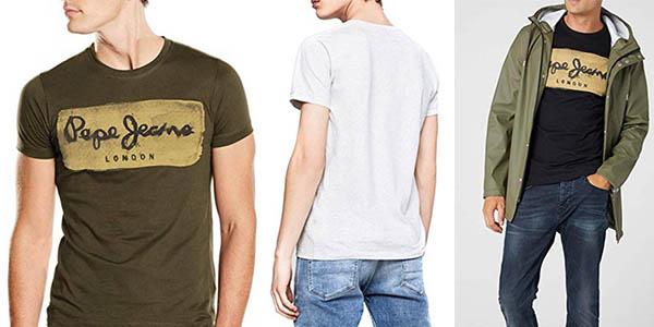 Pepe Jeans Charing camiseta casual chollo
