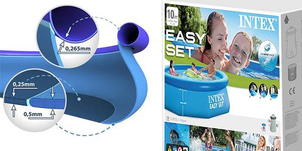 piscina para jardín Intex Easy Jet relación calidad-precio estupenda