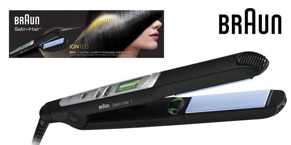 Plancha de Pelo Braun Satin Hair 7 ES2 barata en Amazon