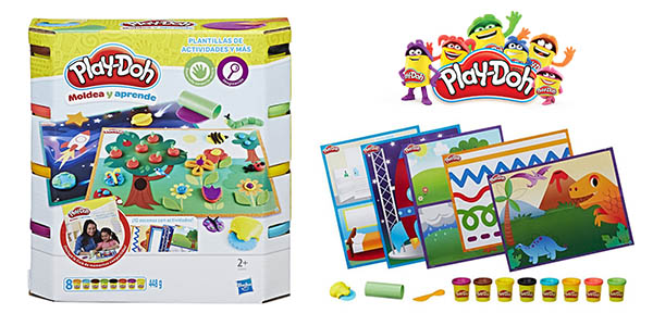 Play-Doh pack actividades plastilina con plantillas oferta