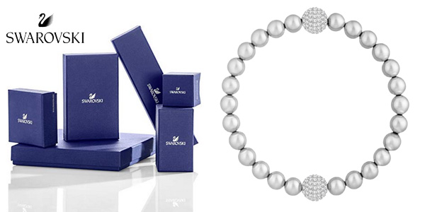 Swarovski Light Gray Crystal Pearl Remix Collection barata en Amazon