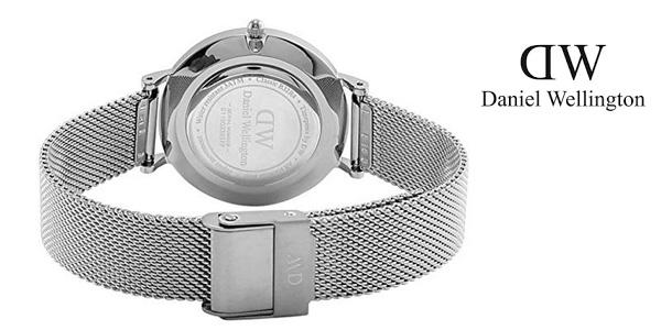Reloj analógico Daniel Wellington DW00100218 Classic Petite Sterling Black para mujer chollo en Amazon
