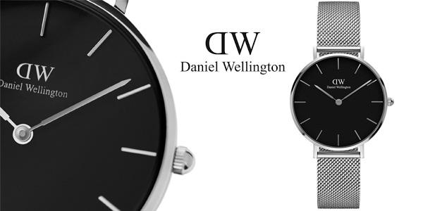 Reloj analógico Daniel Wellington DW00100218 Classic Petite Sterling Black para mujer barato en Amazon