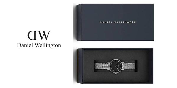 Reloj analógico Daniel Wellington DW00100218 Classic Petite Sterling Black para mujer chollazo en Amazon