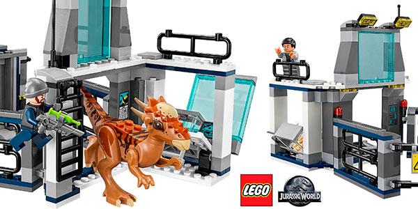 Set Fuga del Stygimoloch de LEGO Jurassic World con 3 minifiguras barato