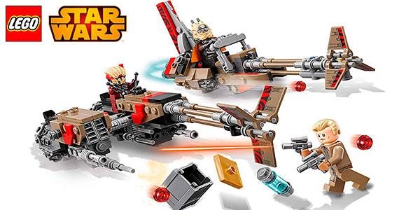 Set Cloud-Rider Swoop Bikes de LEGO Star Wars con 3 minifiguras barato