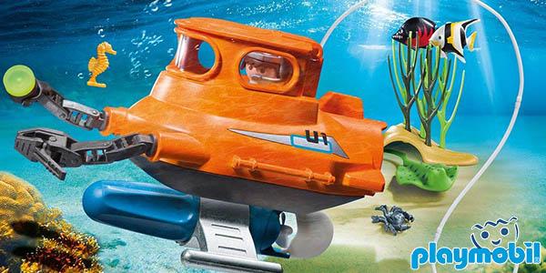 Submarino con motor de Playmobil