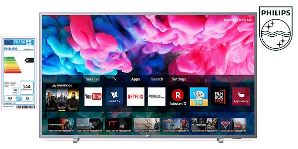 "Smart TV Philips 65PUS6523/12 UHD 4K de 65"" chollazo en Amazon"