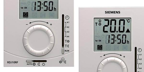 termostato digital para calderas Siemens RDJ10RF chollo