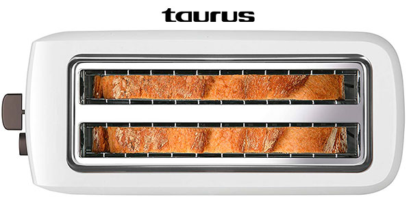 Tostadora Taurus Mytoast Duplo de doble ranura y 1.450 W barata