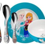 Vajilla infantil de 6 piezas WMF Disney Frozen barata en Amazon