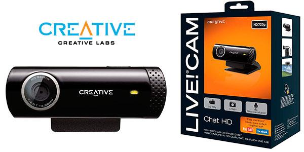 Webcam Creative Live! HD con micro barata