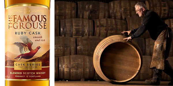 Whisky escocés The Famous Grouse Ruby Cask de 700 ml barato