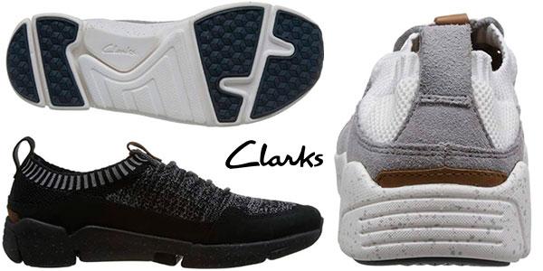 Zapatillas Clarks Triactive Knit para hombre baratas
