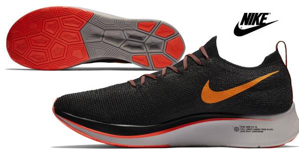Zapatillas de running Nike Zoom Fly Flyknit chollo para mujer