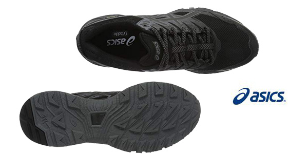Zapatillas de runnig trail ASICS Gel-Sonoma 3 G-TX Trail para mujer chollo en Amazon