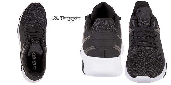 Zapatillas unisex Kappa Tackle azul o negro chollazo en Amazon