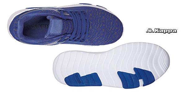 Zapatillas unisex Kappa Tackle azul o negro chollo en Amazon