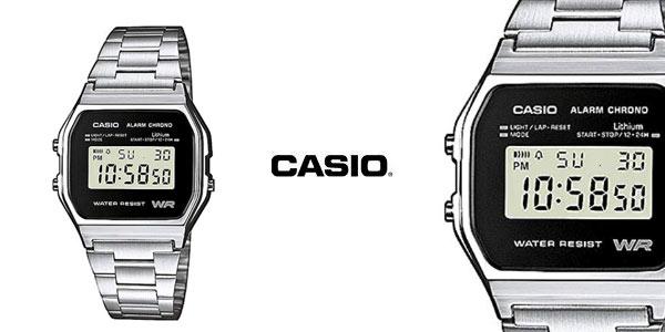 Reloj Casio-A158WEA-1EF barato en Amazon